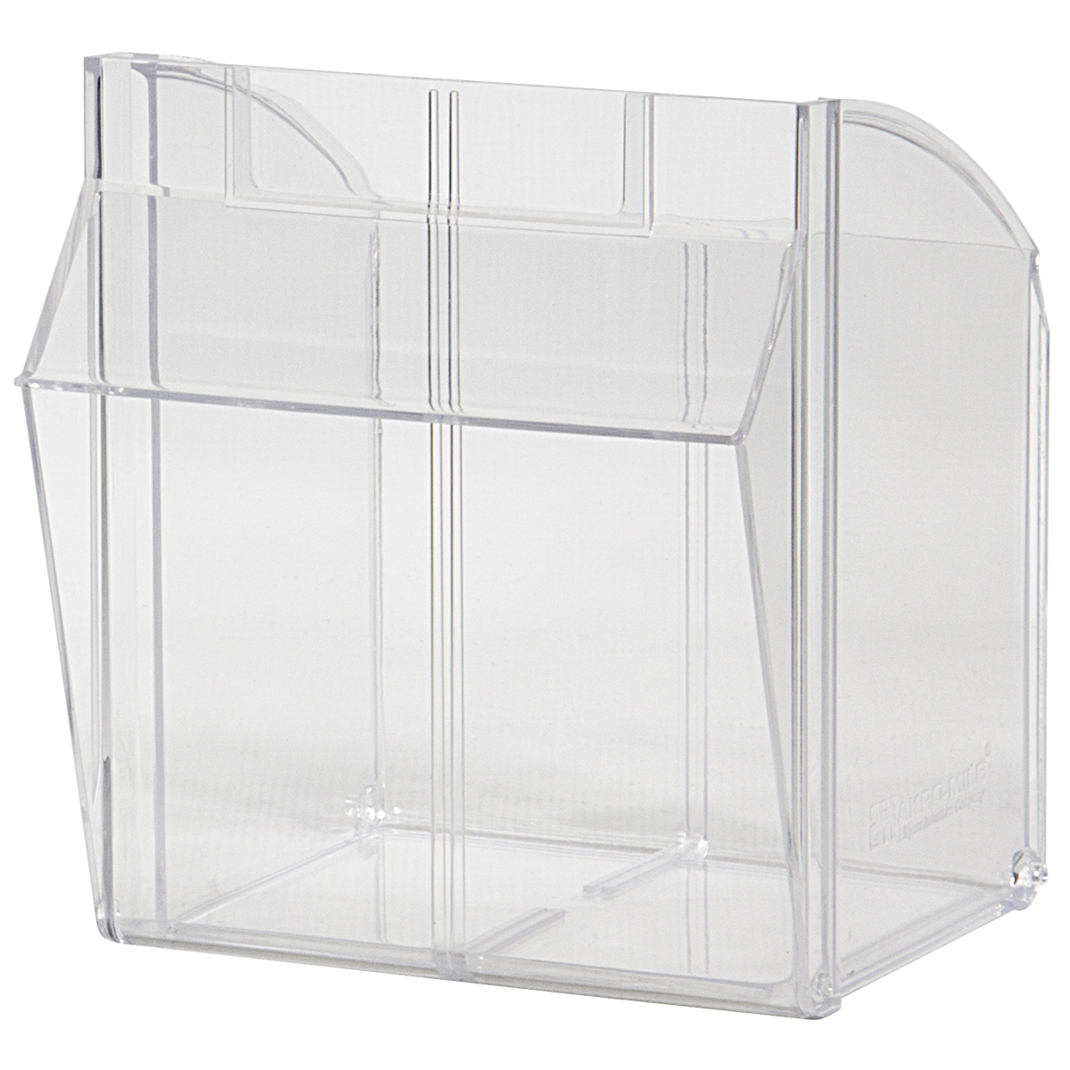 Replacement Bin for Model 06703, Clear (06703CUP).  This item sold in carton quantities of 1.