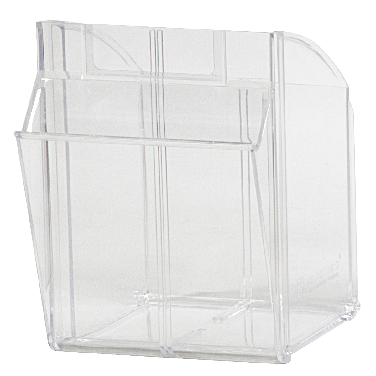 Replacement Bin for Model 06704, Clear (06704CUP).  This item sold in carton quantities of 1.