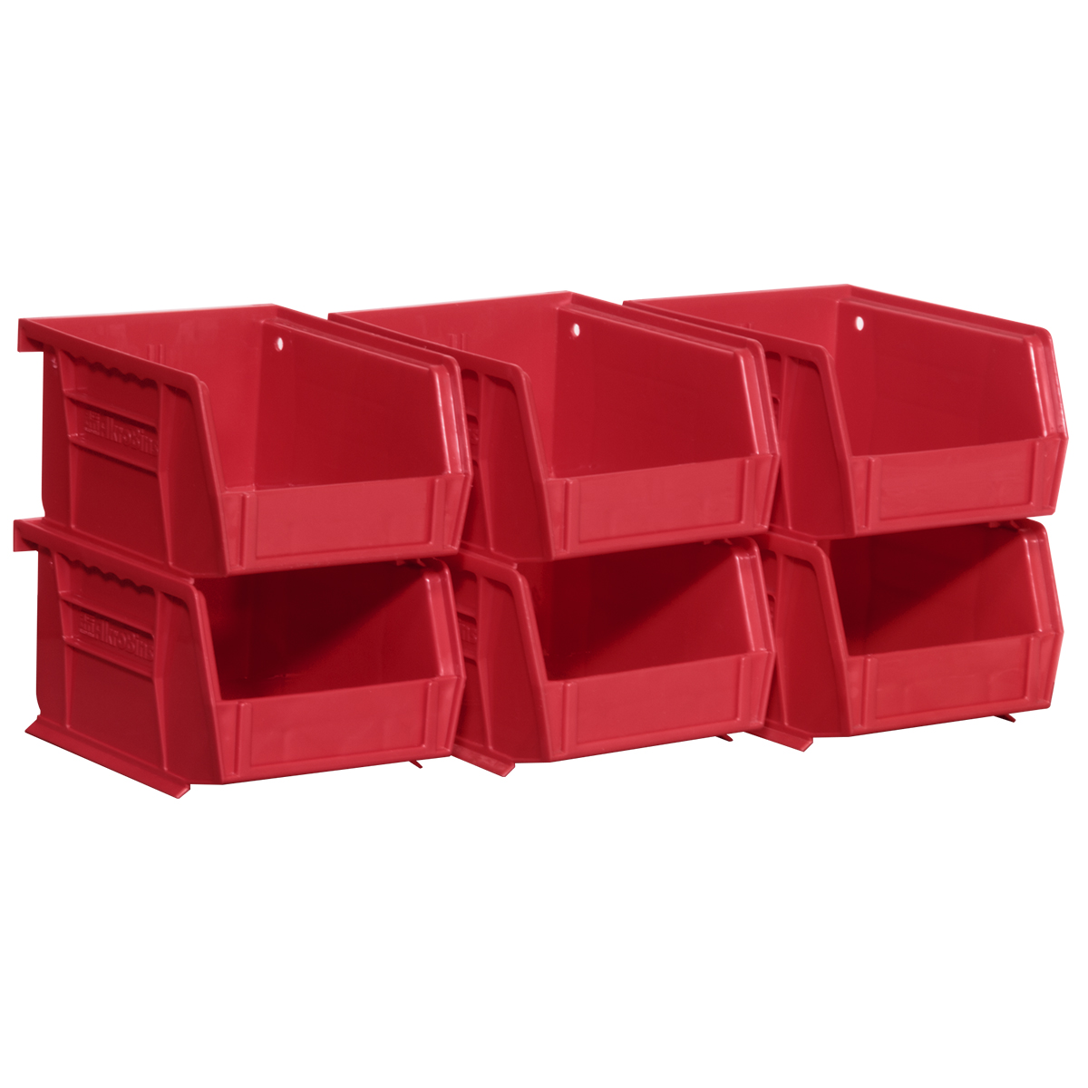 AkroBin 5-3/8 x 4-1/8 x 3, 30210, 6-Pack, Red (08212RED).  This item sold in carton quantities of 1.