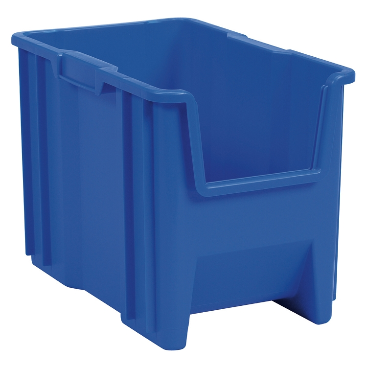 Stak-N-Store Bin 17-1/2 x 10-7/8 x 12-1/2, Blue (13014BLUE).  This item sold in carton quantities of 4.