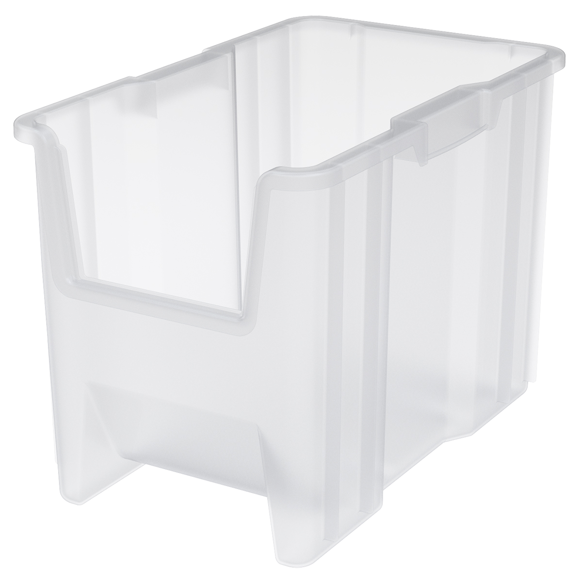 Stak-N-Store Bin 17-1/2 x 10-7/8 x 12-1/2, Clear (13014SCLAR).  This item sold in carton quantities of 4.