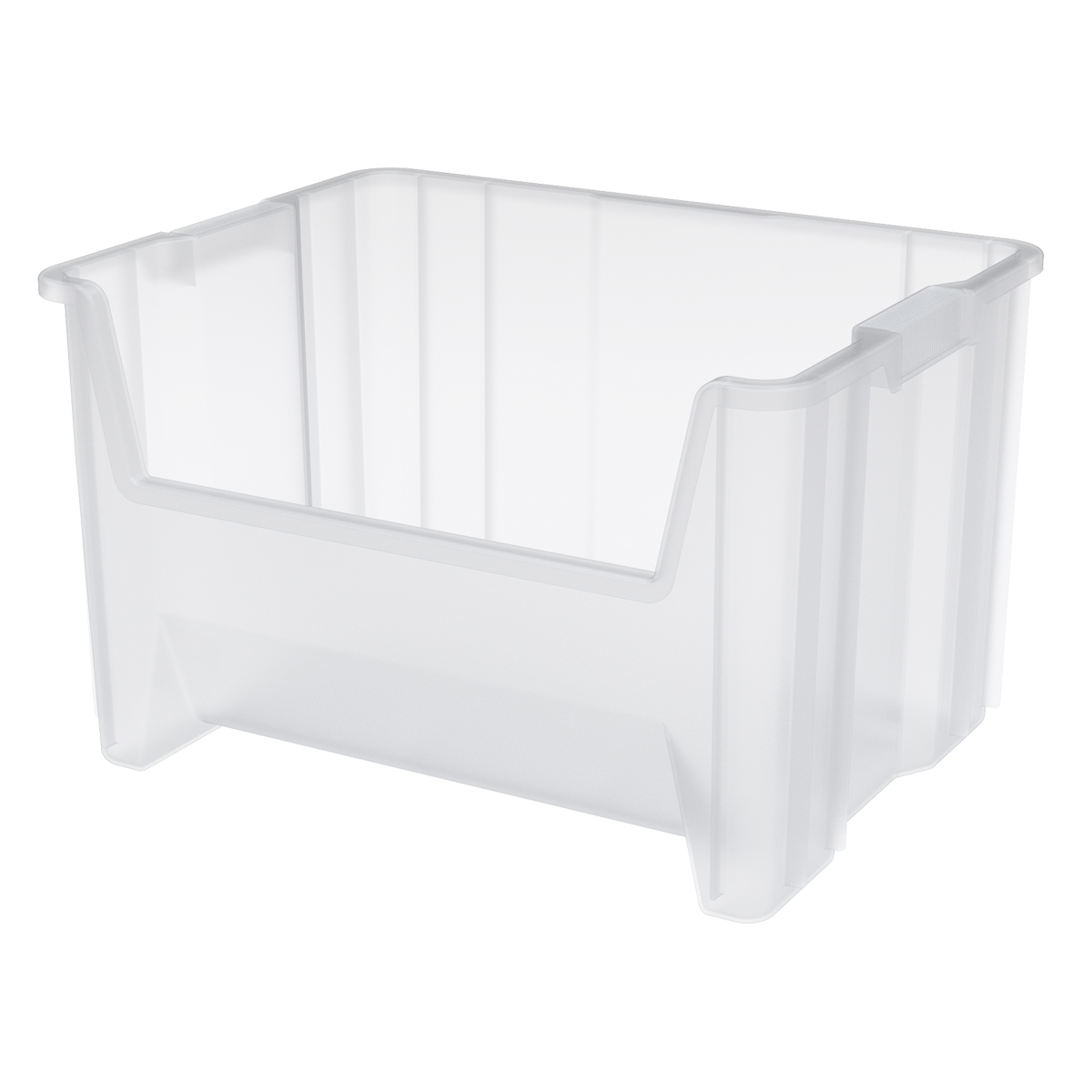 Stak-N-Store Bin 15-1/4 x 19-7/8 x 12-7/16, Clear (13017SCLAR).  This item sold in carton quantities of 3.