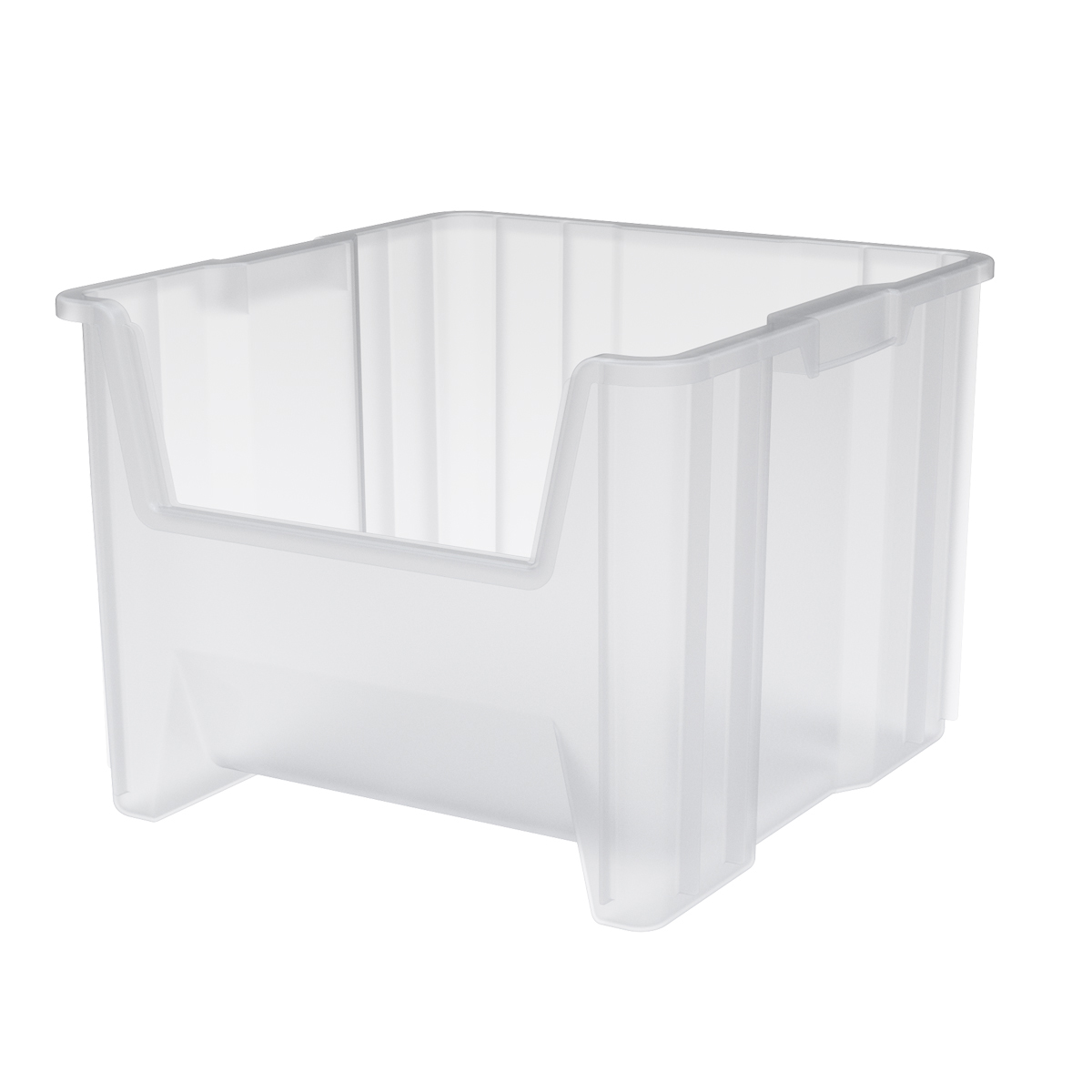Stak-N-Store Bin 17-1/2 x 16-1/2 x 12-1/2, Clear (13018SCLAR).  This item sold in carton quantities of 2.