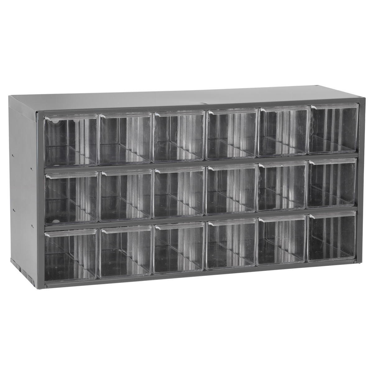 17-Series Steel Cabinet w/ 18 Drawers, Gray (17018).  This item sold in carton quantities of 1.