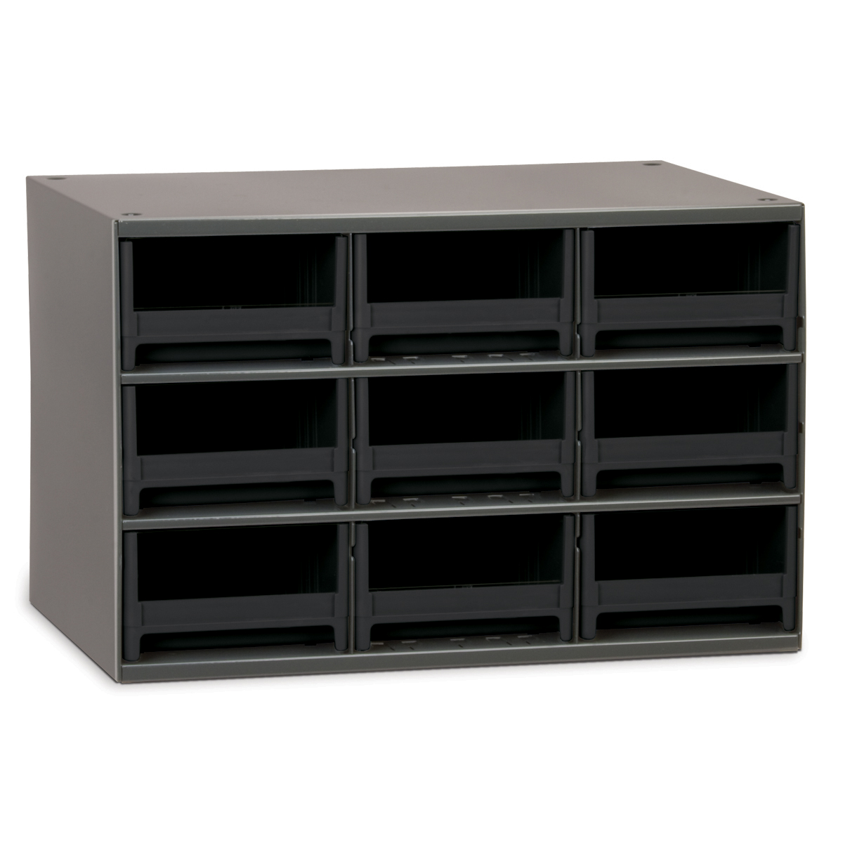 19-Series Steel Cabinet w/ 9 Drawers, Black (19909BLK).  This item sold in carton quantities of 1.