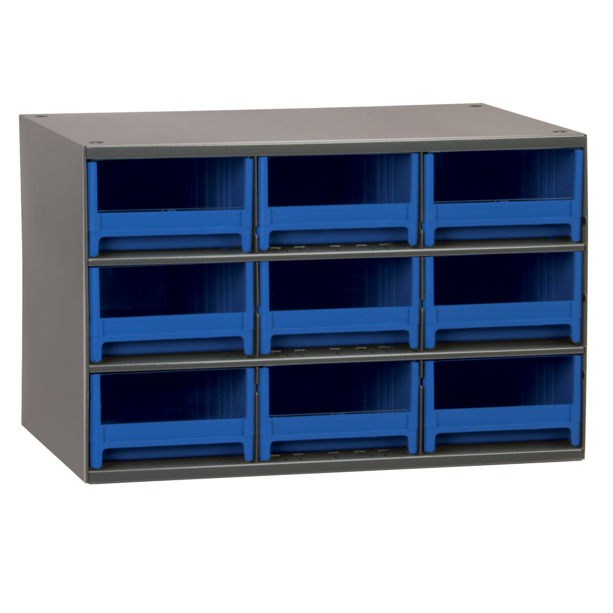 19-Series Steel Cabinet w/ 9 Drawers, Blue (19909BLU).  This item sold in carton quantities of 1.