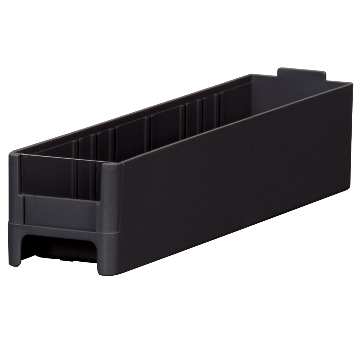 19-Series Cabinet Drawer 2-3/16 x 2-1/16 x 10-9/16, Black.  This item sold in carton quantities of 56.