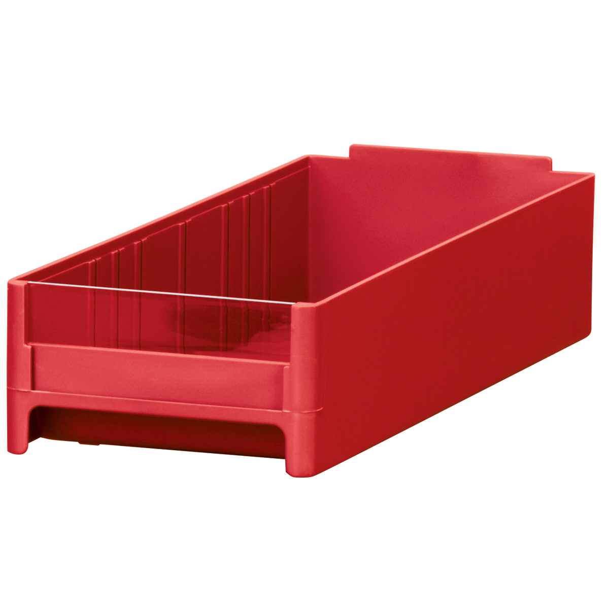 19-Series Cabinet Drawer 4 x 2-1/16 x 10-9/16, Red.  This item sold in carton quantities of 32.