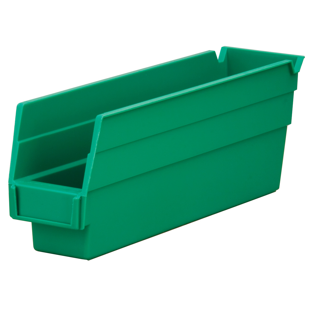 Shelf Bin 11-5/8 x 2-3/4 x 4, Green (30110GREEN).  This item sold in carton quantities of 24.