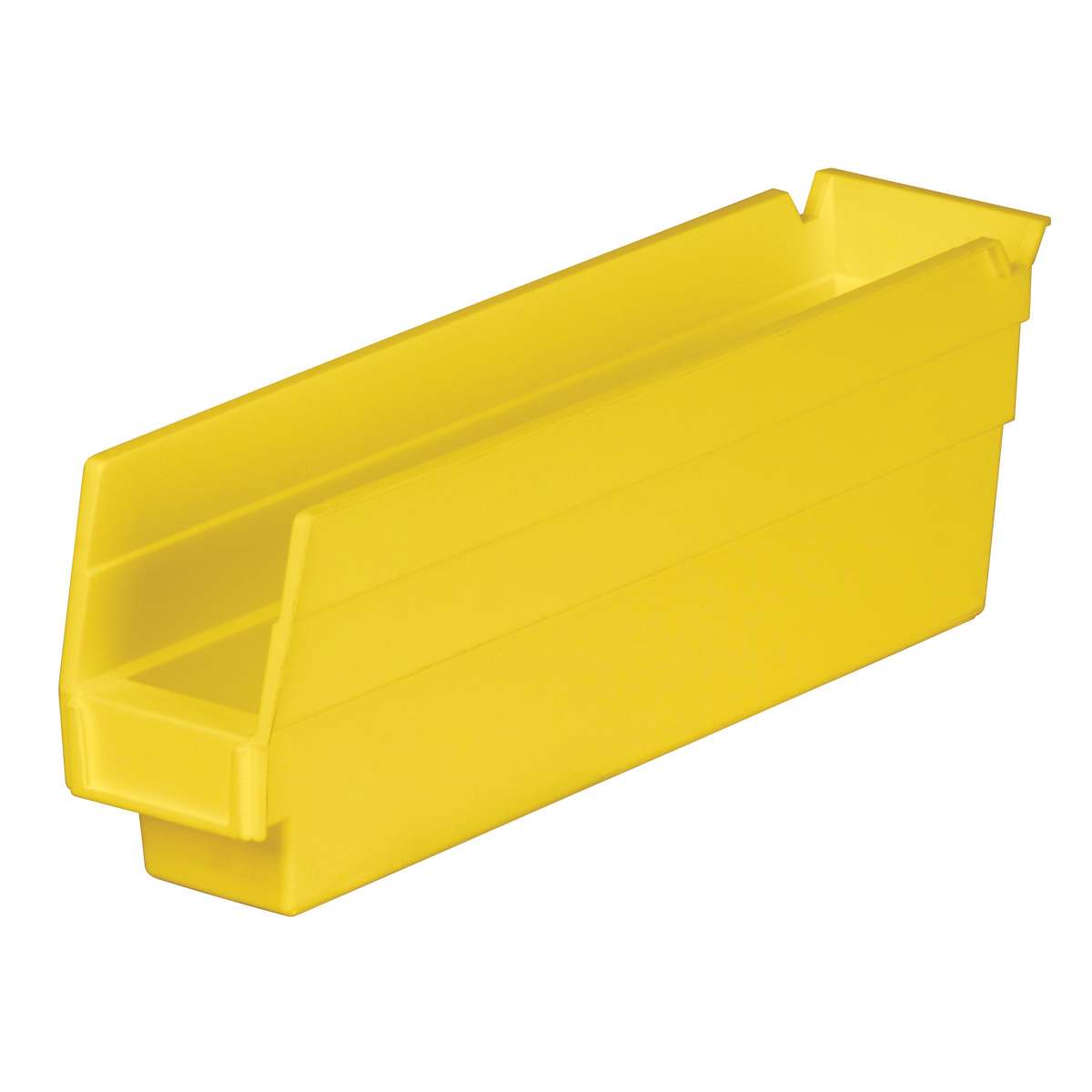 Shelf Bin 11-5/8 x 2-3/4 x 4, Yellow (30110YELLO).  This item sold in carton quantities of 24.