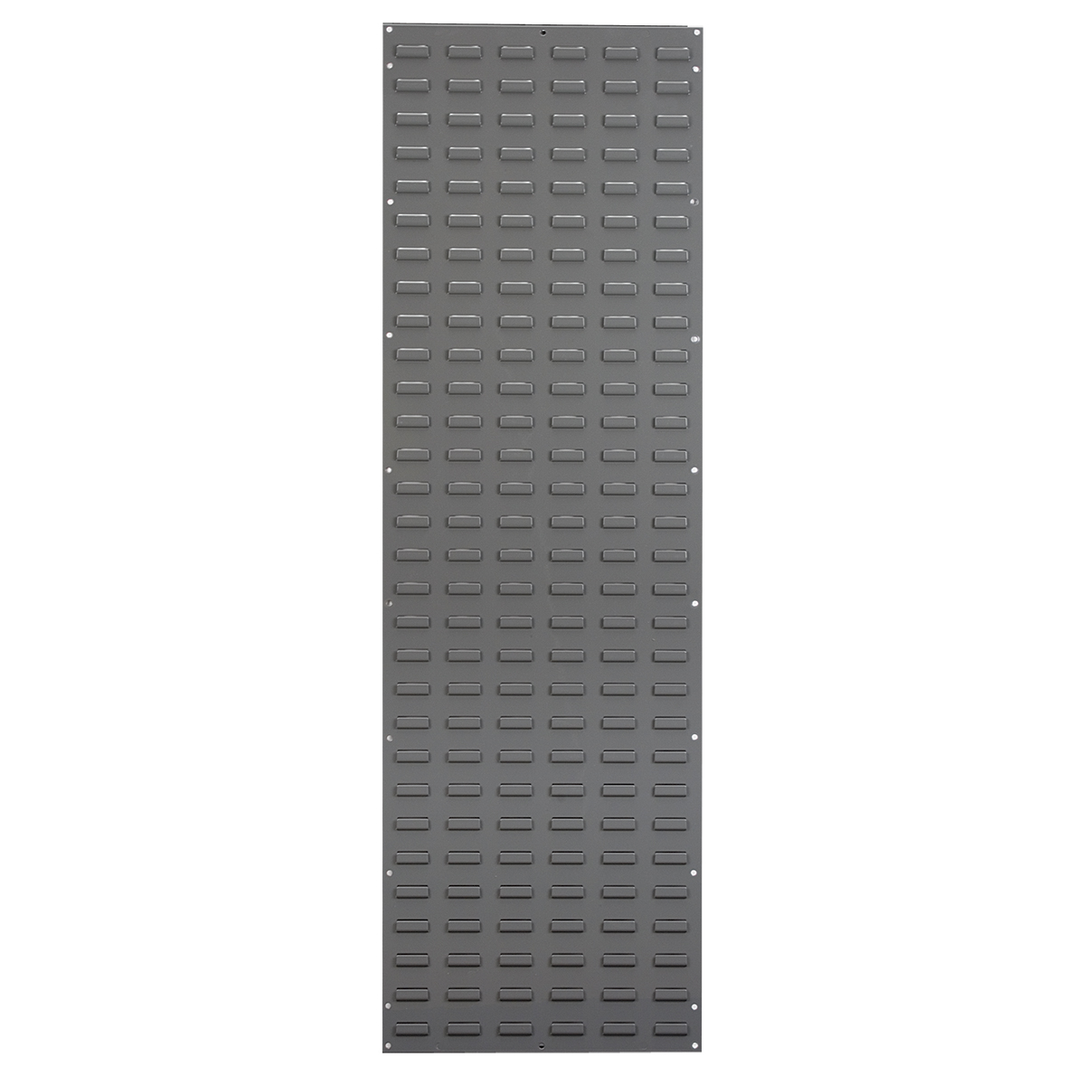 Louvered Wall Panel, 18 x 61, Gray (30118).  This item sold in carton quantities of 1.