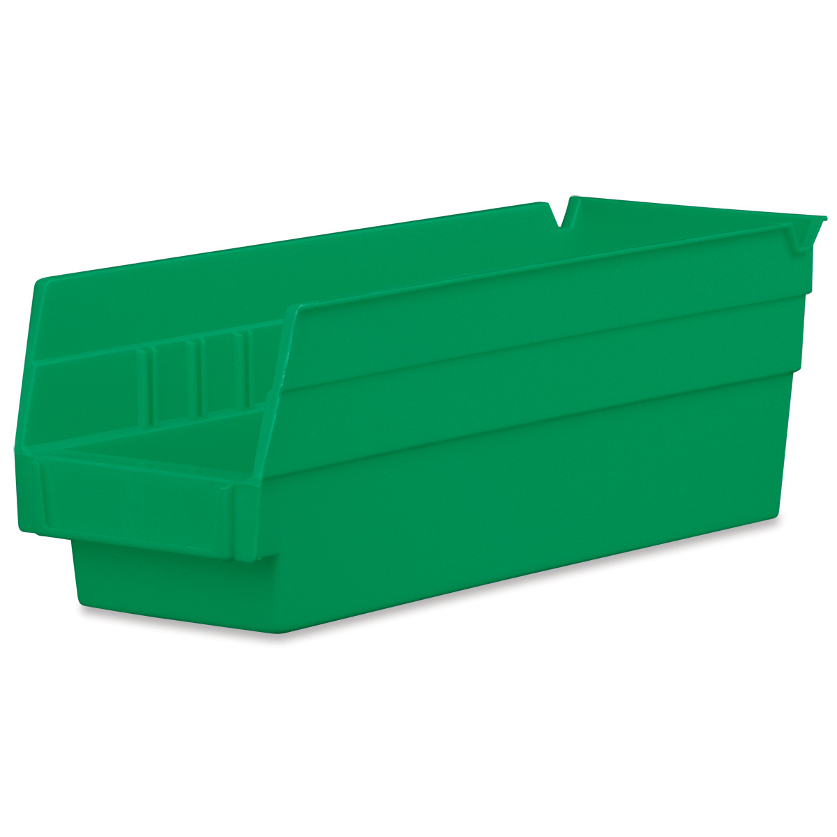 Shelf Bin 11-5/8 x 4-1/8 x 4, Green (30120GREEN).  This item sold in carton quantities of 24.
