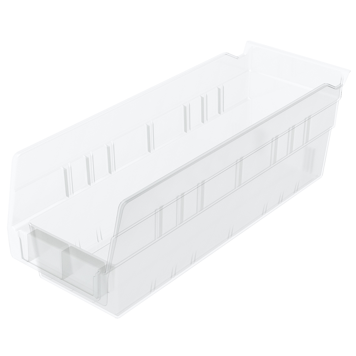 Shelf Bin 11-5/8 x 4-1/8 x 4, Clear (30120SCLAR).  This item sold in carton quantities of 24.