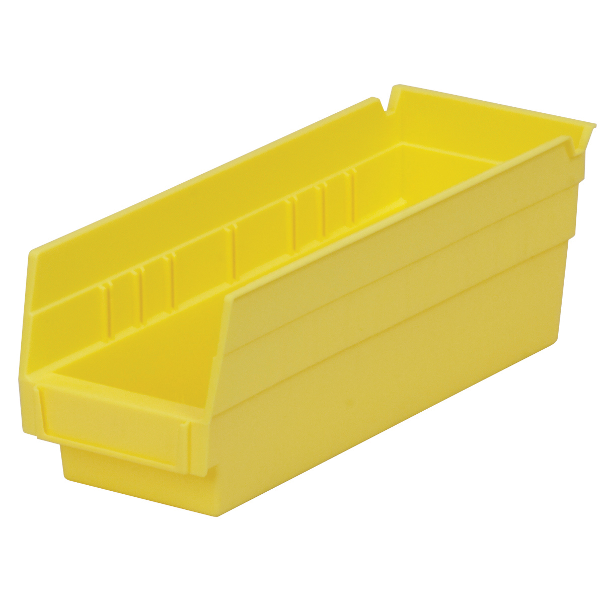 Shelf Bin 11-5/8 x 4-1/8 x 4, Yellow (30120YELLO).  This item sold in carton quantities of 24.