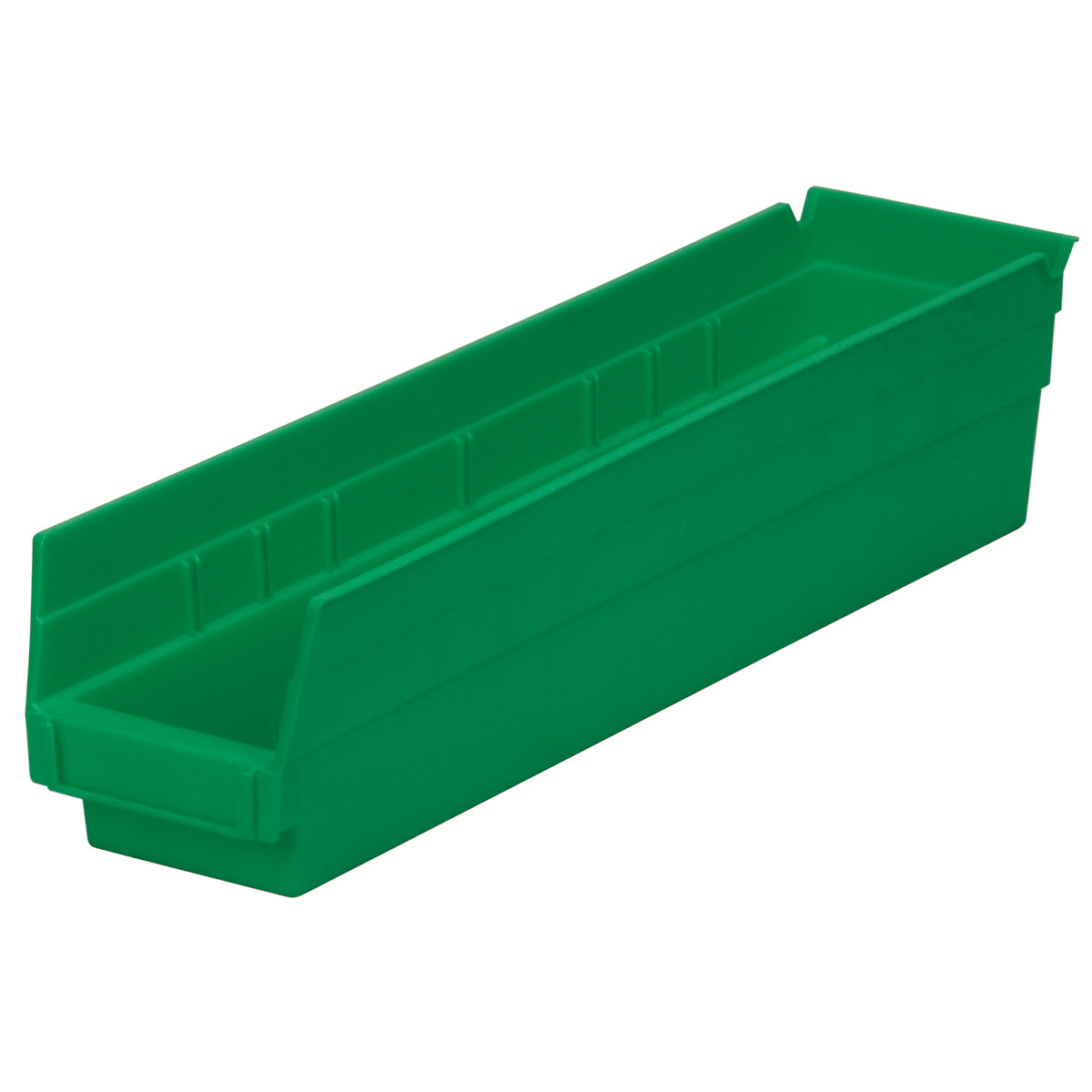 Shelf Bin 17-7/8 x 4-1/8 x 4, Green (30128GREEN).  This item sold in carton quantities of 12.