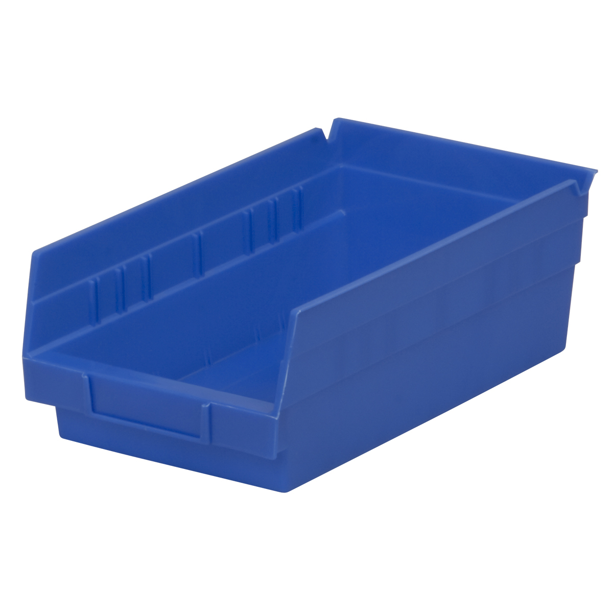Shelf Bin 11-5/8 x 6-5/8 x 4, Blue (30130BLUE).  This item sold in carton quantities of 12.