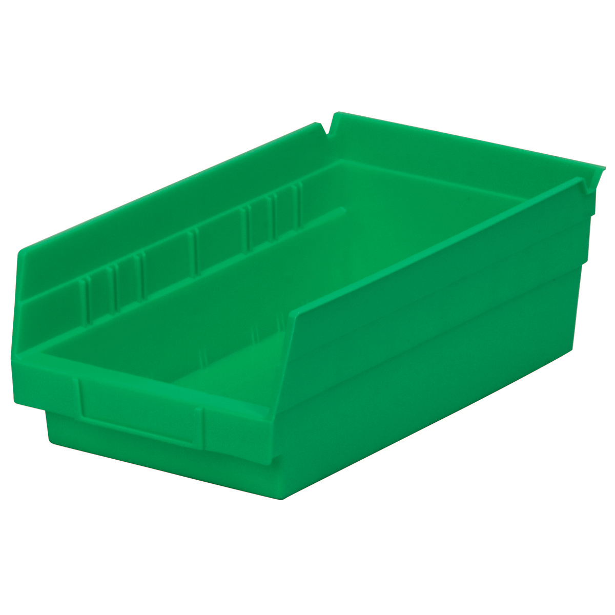 Shelf Bin 11-5/8 x 6-5/8 x 4, Green (30130GREEN).  This item sold in carton quantities of 12.