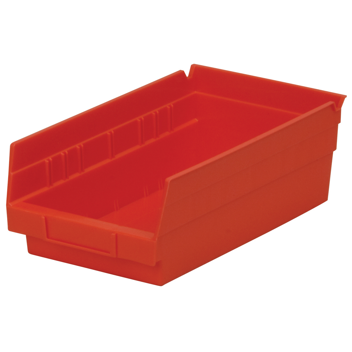 Shelf Bin 11-5/8 x 6-5/8 x 4, Red (30130RED).  This item sold in carton quantities of 12.