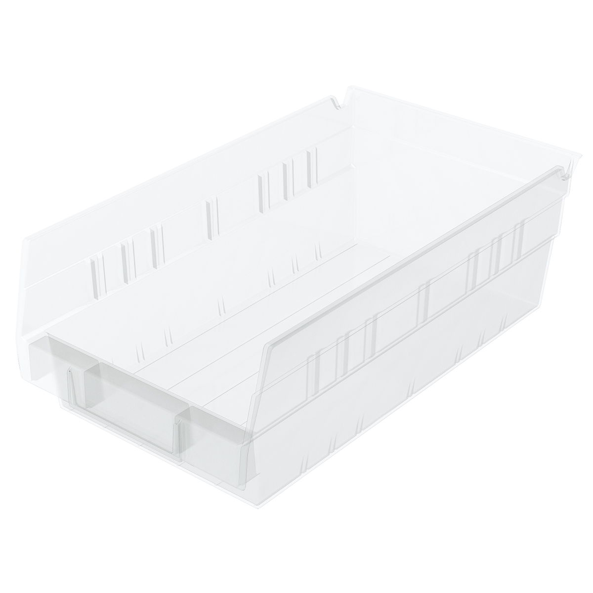 Shelf Bin 11-5/8 x 6-5/8 x 4, Clear (30130SCLAR).  This item sold in carton quantities of 12.