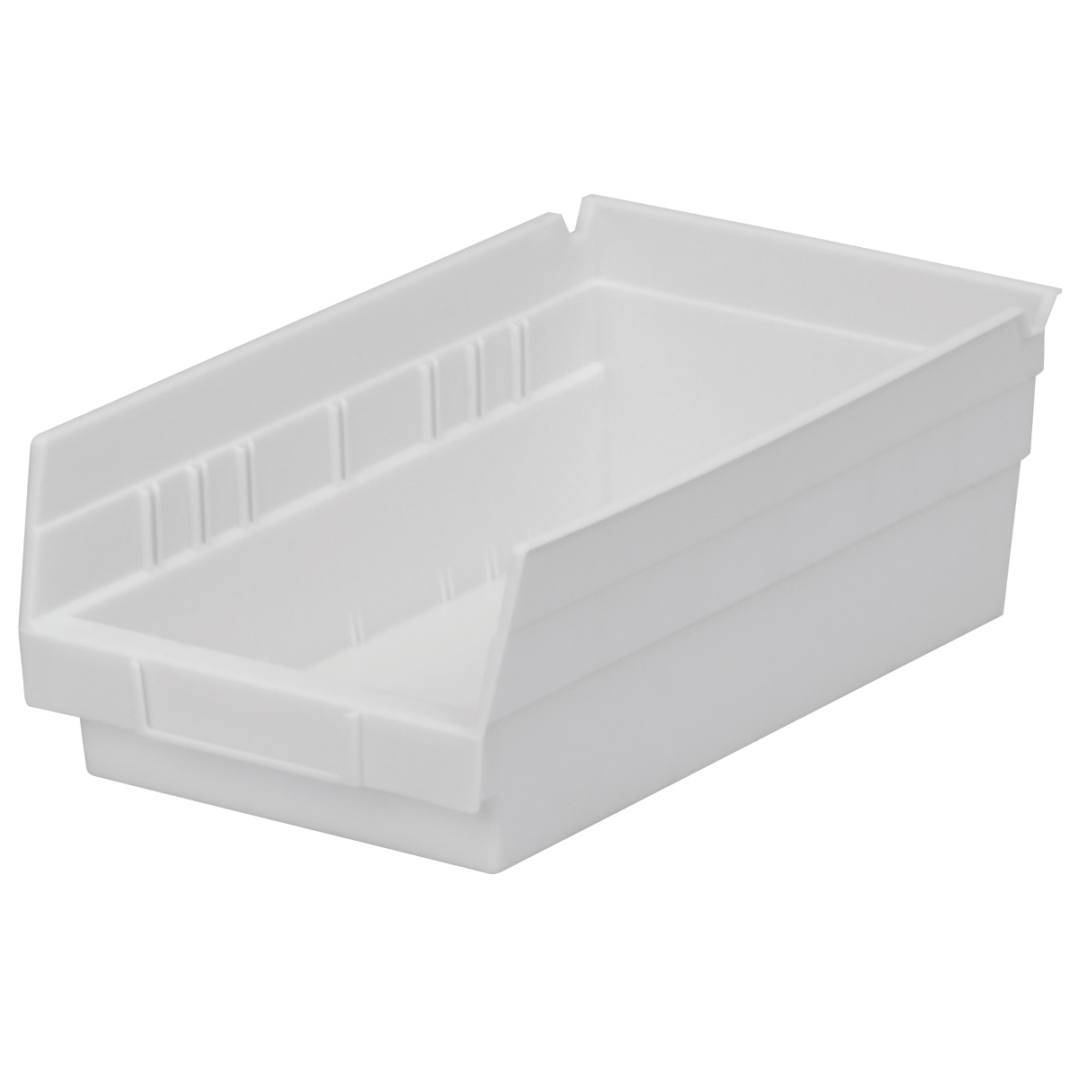 Shelf Bin 11-5/8 x 6-5/8 x 4, White (30130WHITE).  This item sold in carton quantities of 12.