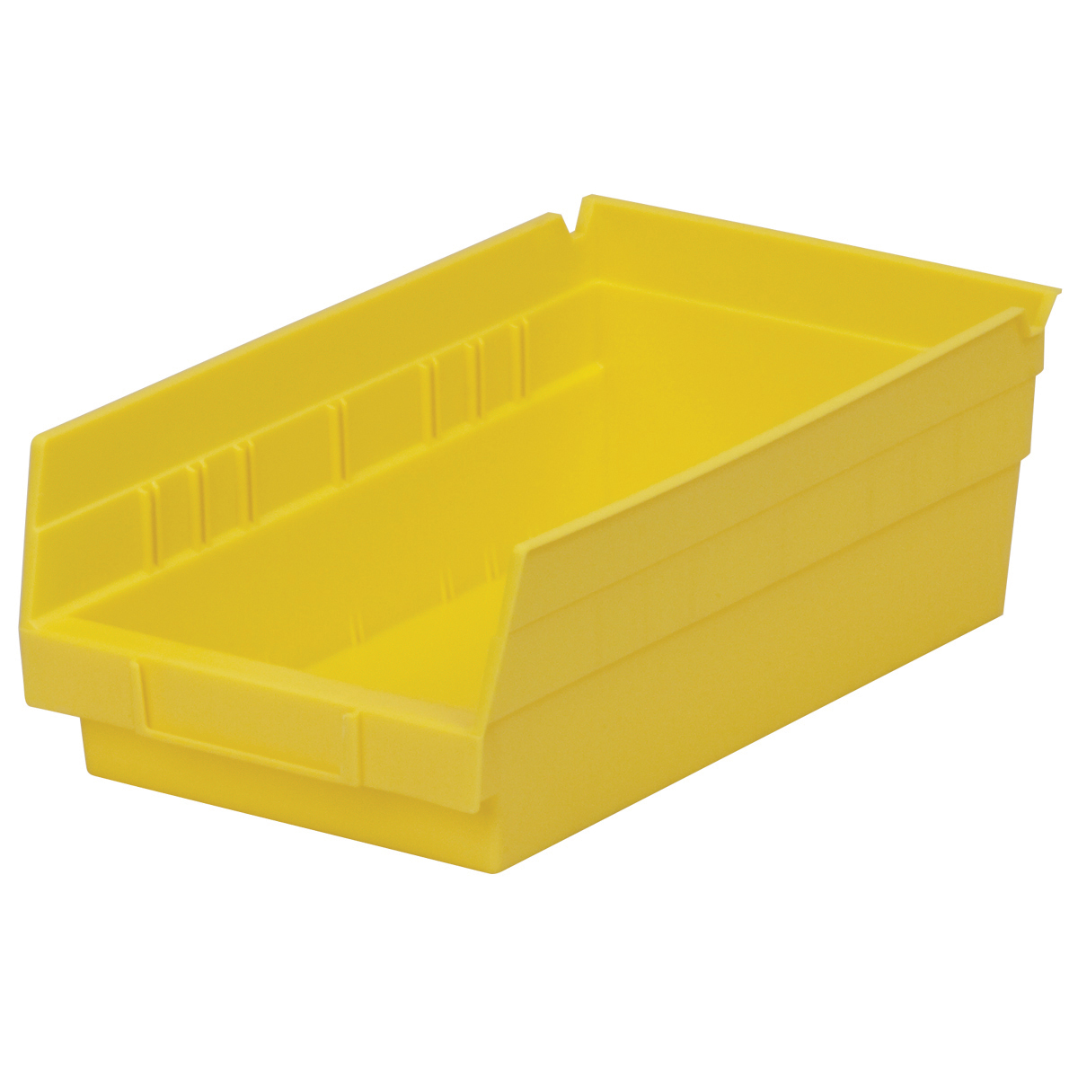 Shelf Bin 11-5/8 x 6-5/8 x 4, Yellow (30130YELLO).  This item sold in carton quantities of 12.
