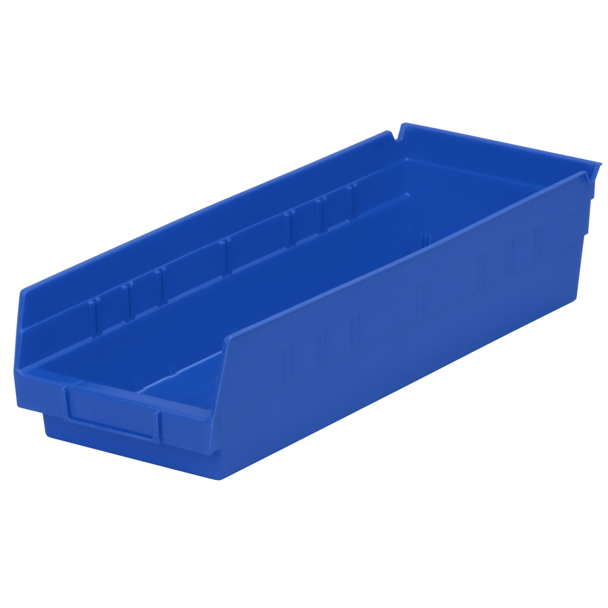 Shelf Bin 17-7/8 x 6-5/8 x 4, Blue (30138BLUE).  This item sold in carton quantities of 12.