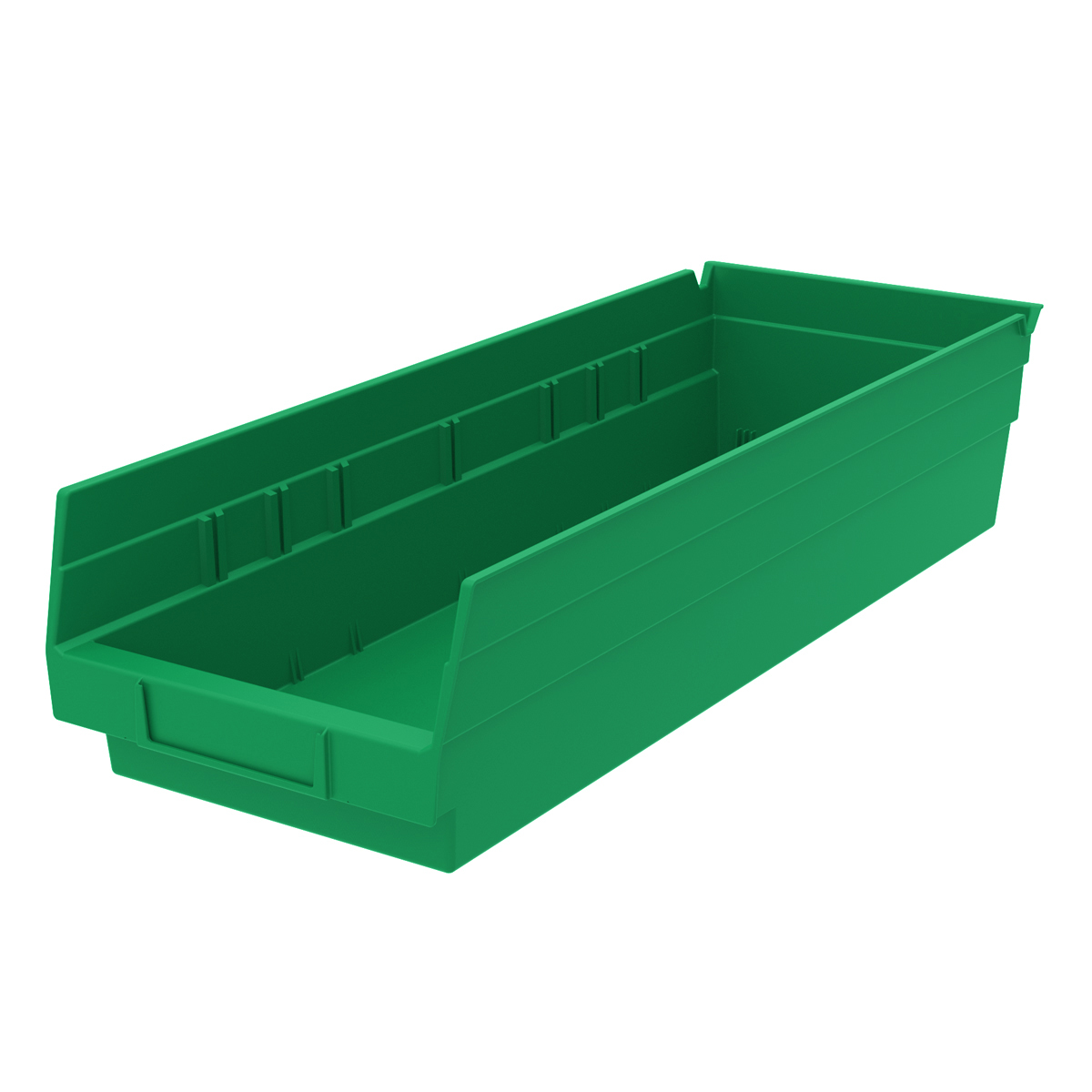 Shelf Bin 17-7/8 x 6-5/8 x 4, Green (30138GREEN).  This item sold in carton quantities of 12.