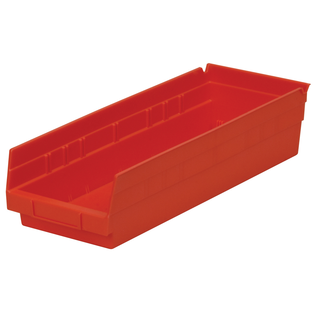 Shelf Bin 17-7/8 x 6-5/8 x 4, Red (30138RED).  This item sold in carton quantities of 12.