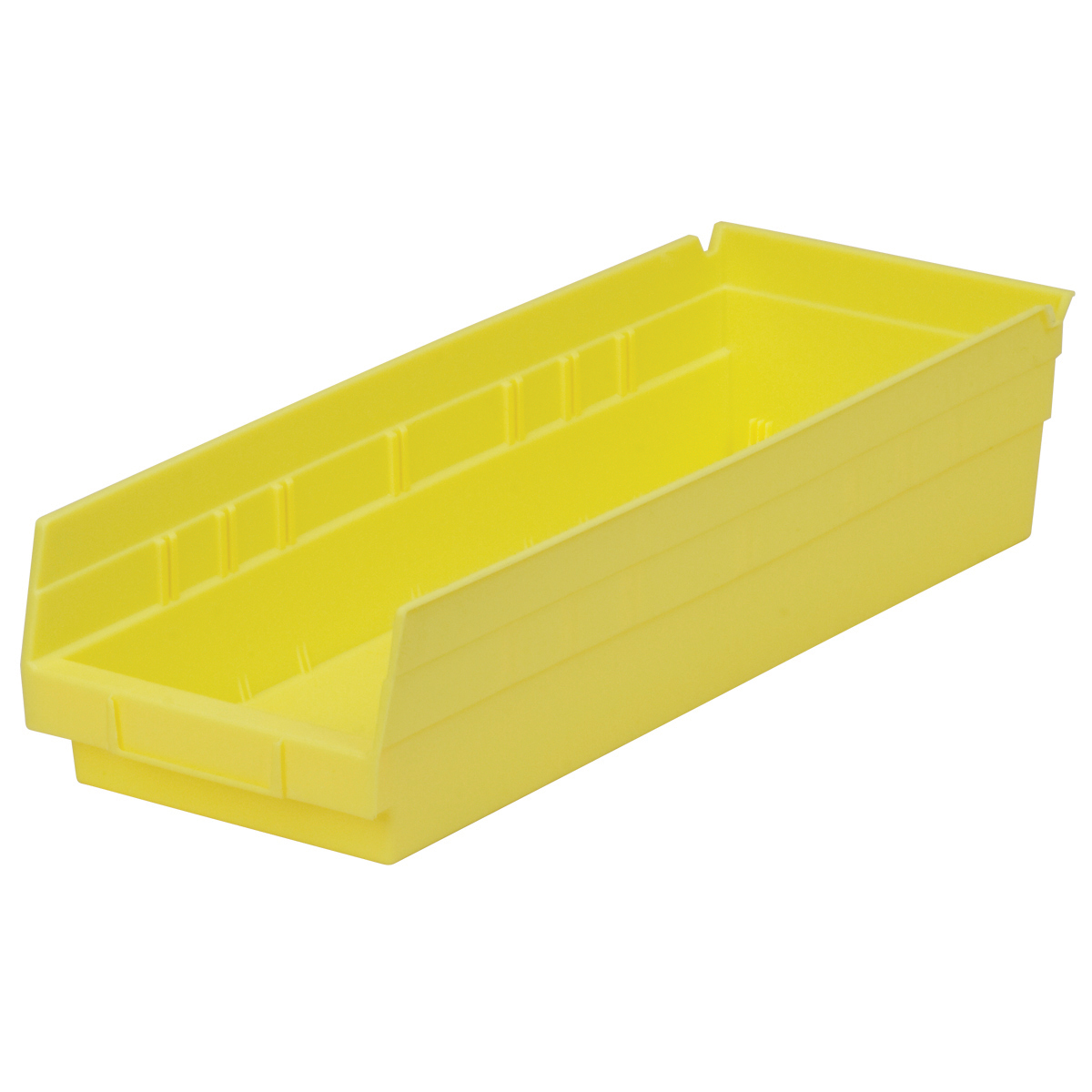 Shelf Bin 17-7/8 x 6-5/8 x 4, Yellow (30138YELLO).  This item sold in carton quantities of 12.
