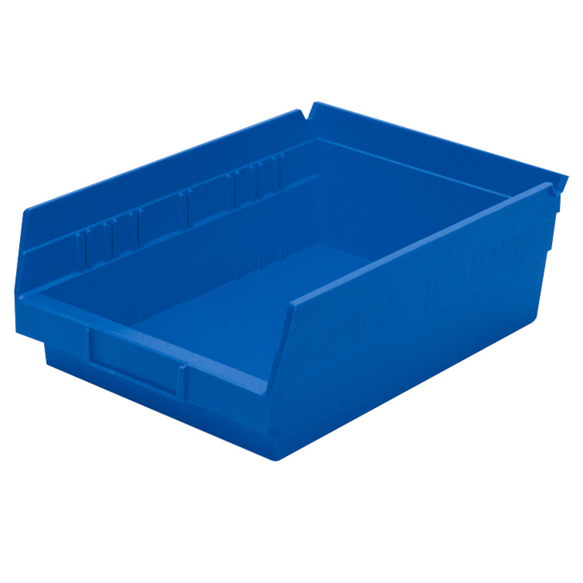 Shelf Bin 11-5/8 x 8-3/8 x 4, Blue (30150BLUE).  This item sold in carton quantities of 12.