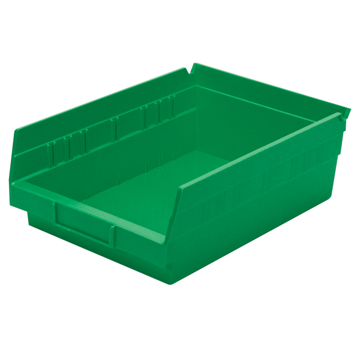 Shelf Bin 11-5/8 x 8-3/8 x 4, Green (30150GREEN).  This item sold in carton quantities of 12.