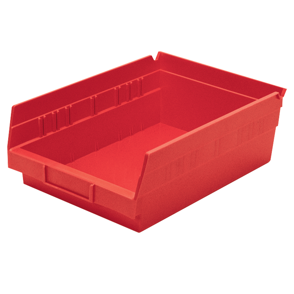 Shelf Bin 11-5/8 x 8-3/8 x 4, Red (30150RED).  This item sold in carton quantities of 12.