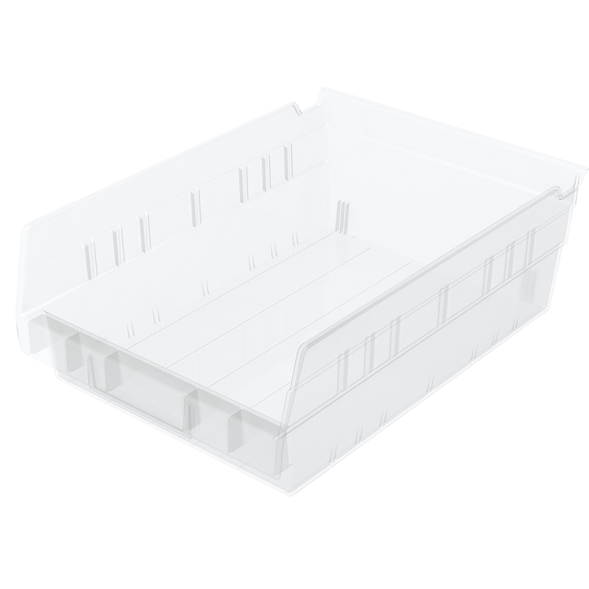 Shelf Bin 11-5/8 x 8-3/8 x 4, Clear (30150SCLAR).  This item sold in carton quantities of 12.