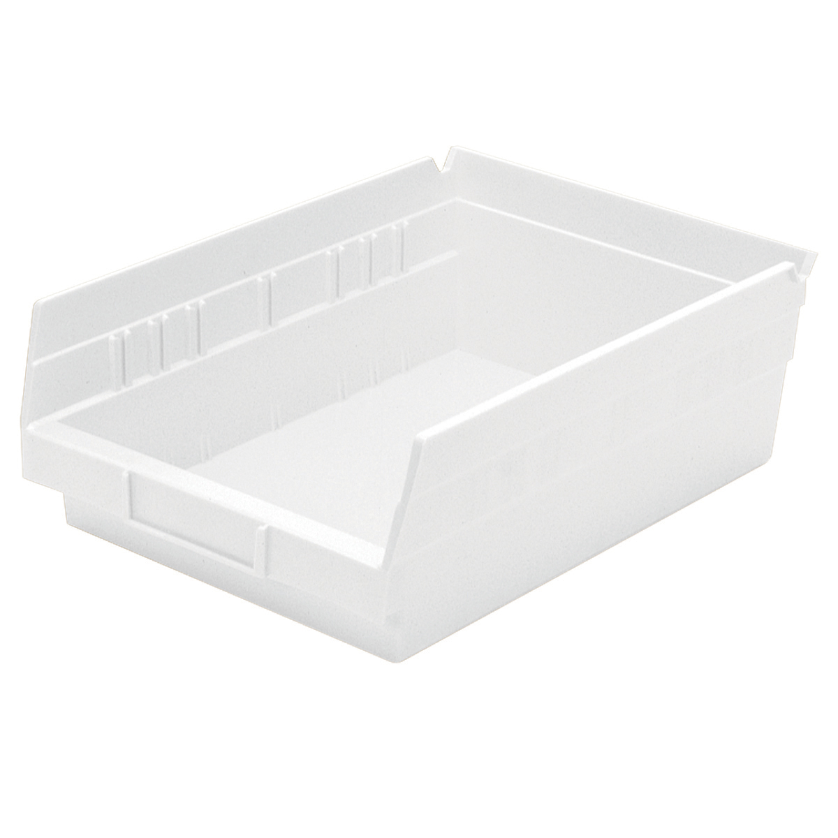 Shelf Bin 11-5/8 x 8-3/8 x 4, White (30150WHITE).  This item sold in carton quantities of 12.