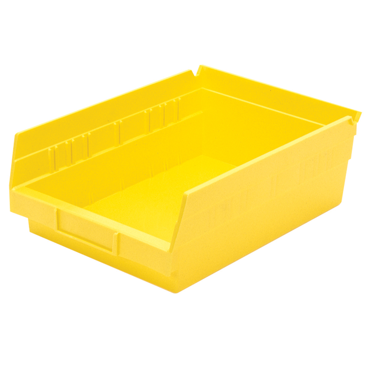 Shelf Bin 11-5/8 x 8-3/8 x 4, Yellow (30150YELLO).  This item sold in carton quantities of 12.