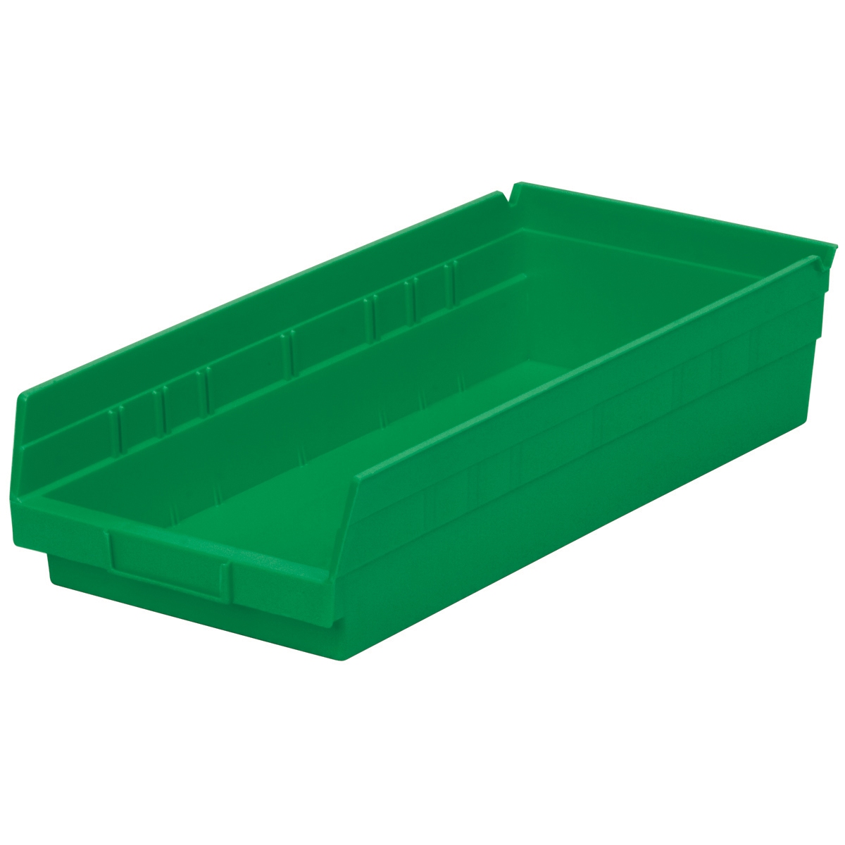 Shelf Bin 17-7/8 x 8-3/8 x 4, Green (30158GREEN).  This item sold in carton quantities of 12.