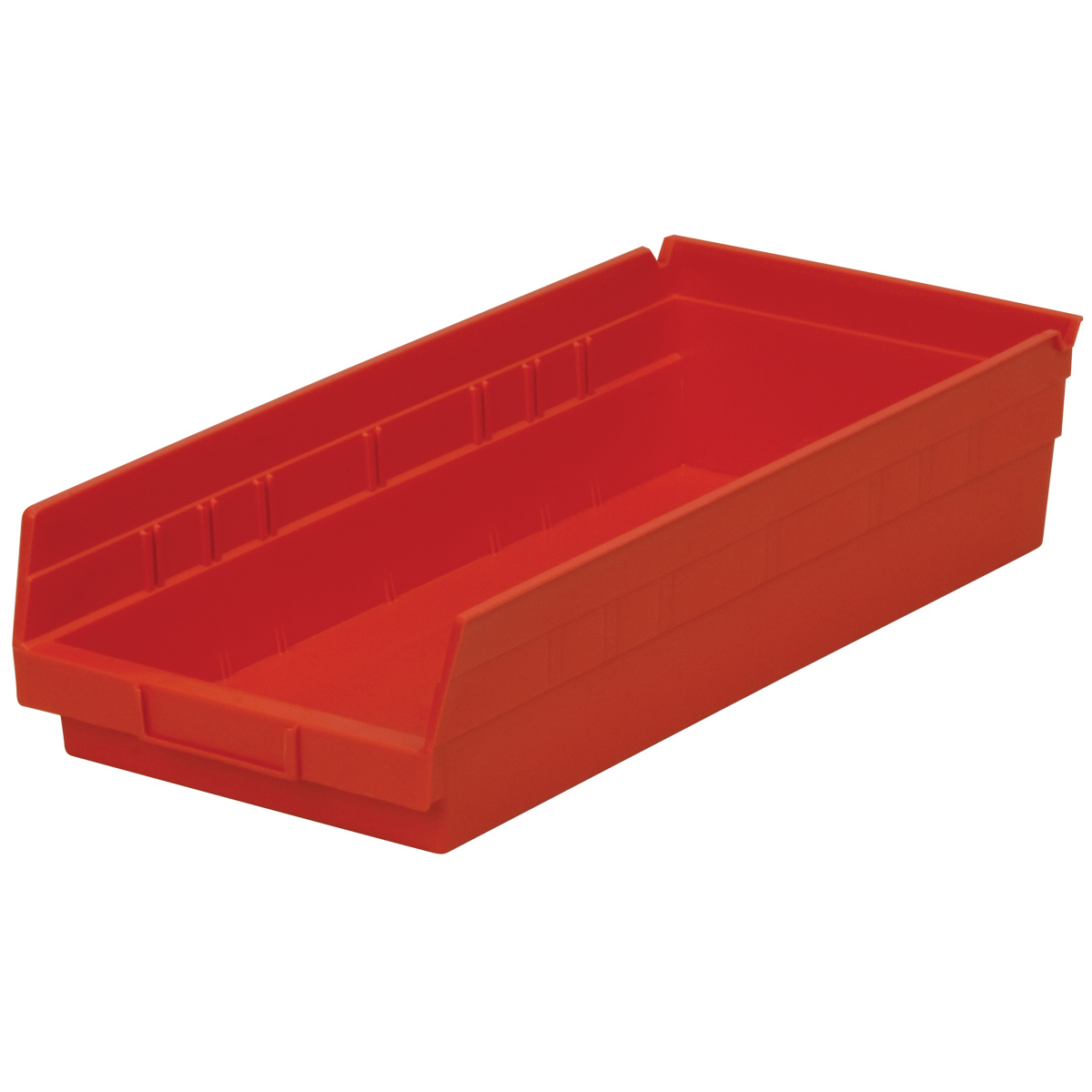 Shelf Bin 17-7/8 x 8-3/8 x 4, Red (30158RED).  This item sold in carton quantities of 12.