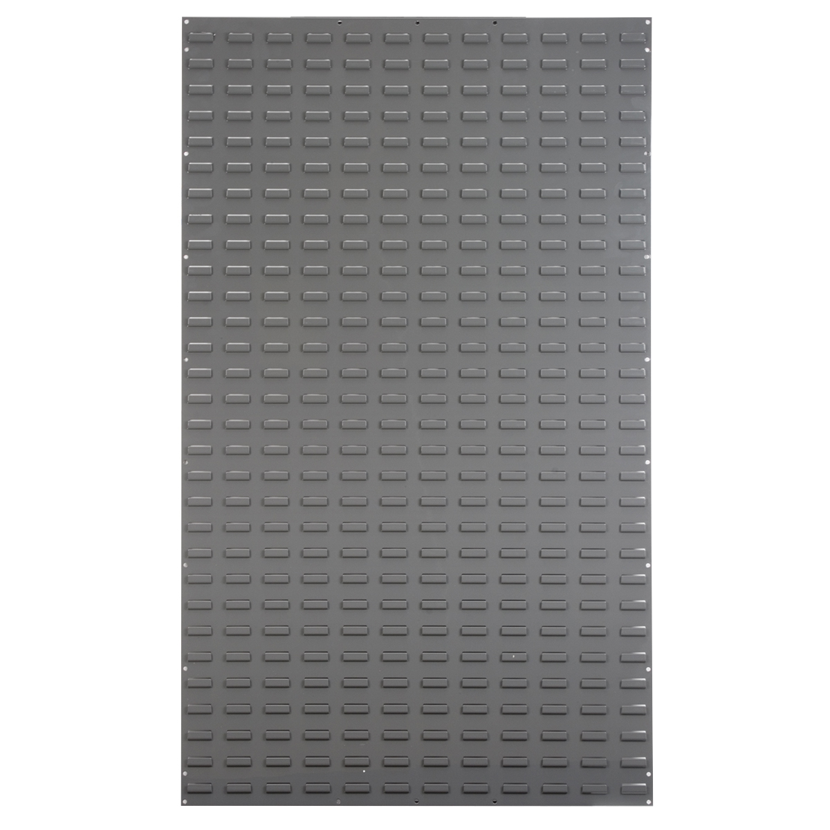 Louvered Wall Panel, 36 x 61, Gray (30161).  This item sold in carton quantities of 1.