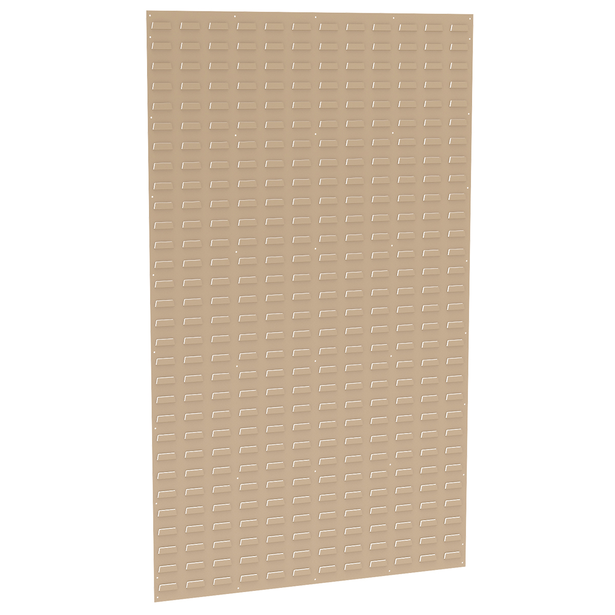 Louvered Wall Panel, 36 x 61, Beige (30161BEIGE).  This item sold in carton quantities of 1.