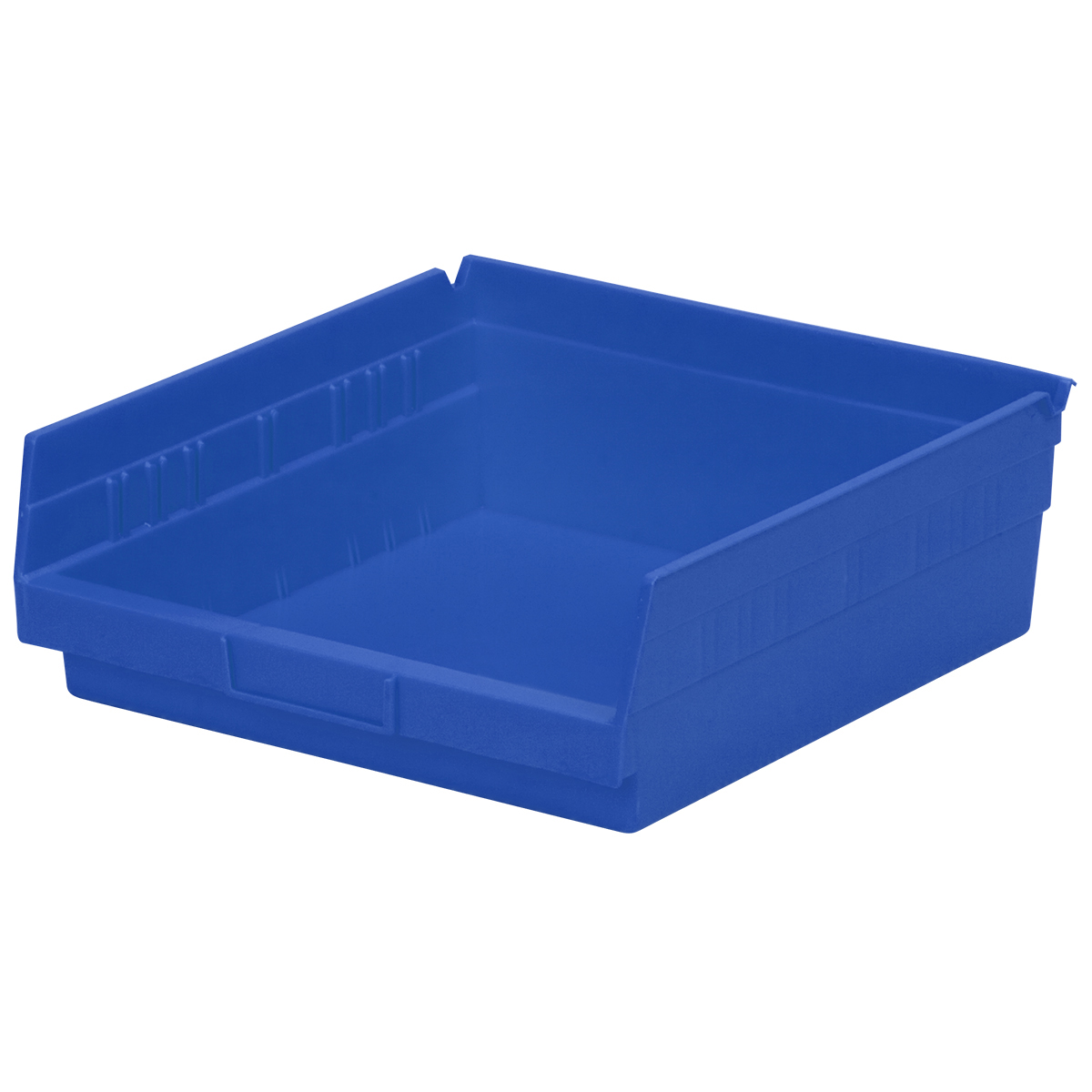 Shelf Bin 11-5/8 x 11-1/8 x 4, Blue (30170BLUE).  This item sold in carton quantities of 12.
