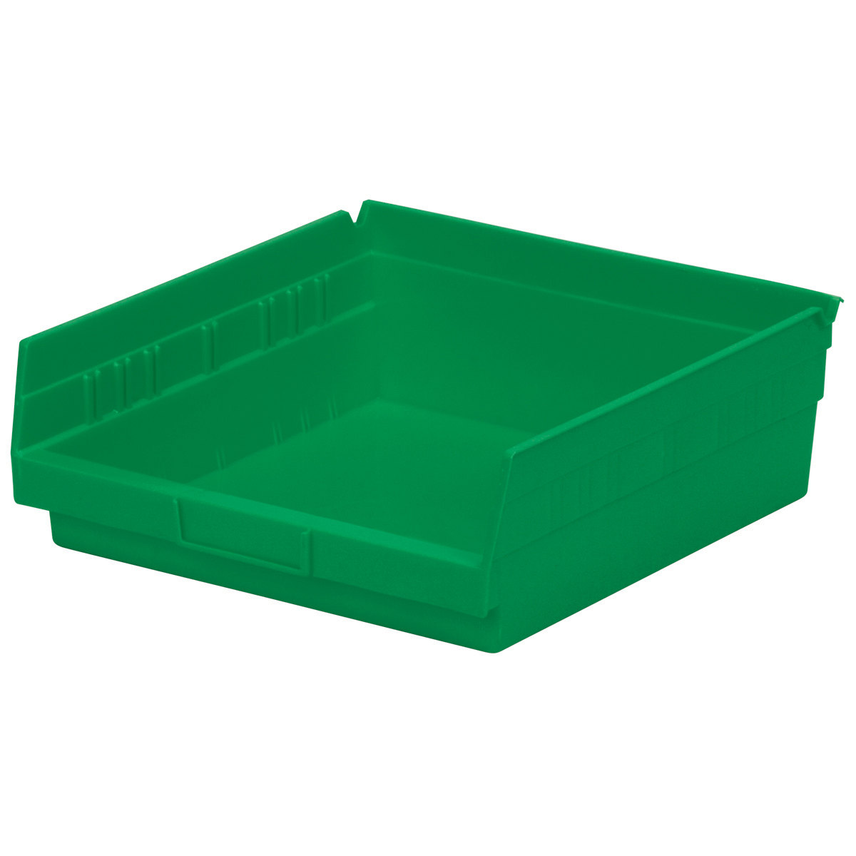 Shelf Bin 11-5/8 x 11-1/8 x 4, Green (30170GREEN).  This item sold in carton quantities of 12.