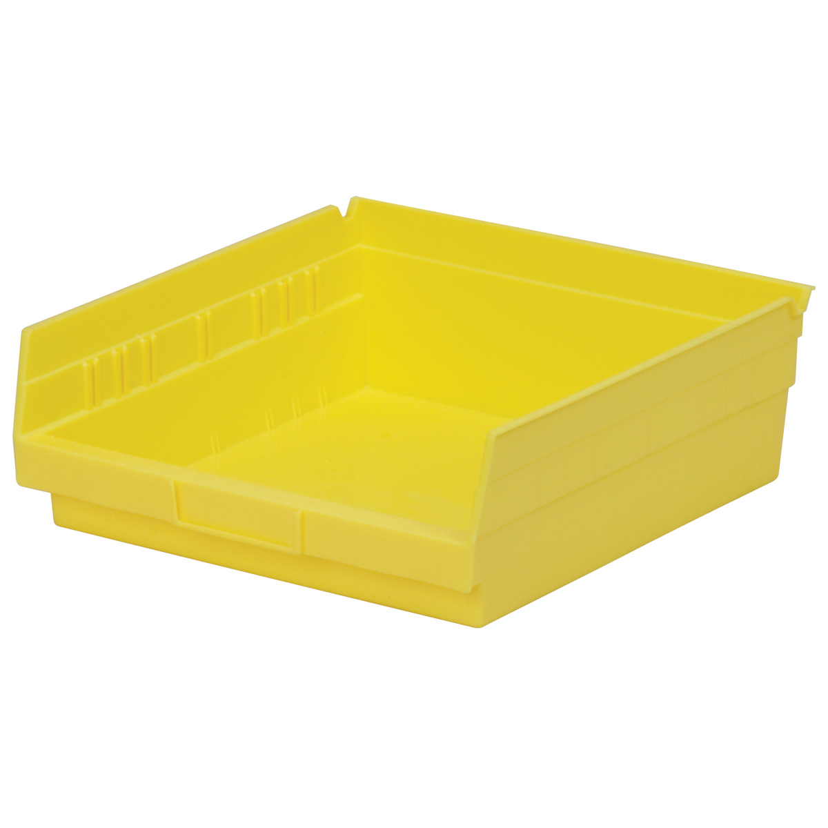 Shelf Bin 11-5/8 x 11-1/8 x 4, Yellow (30170YELLO).  This item sold in carton quantities of 12.