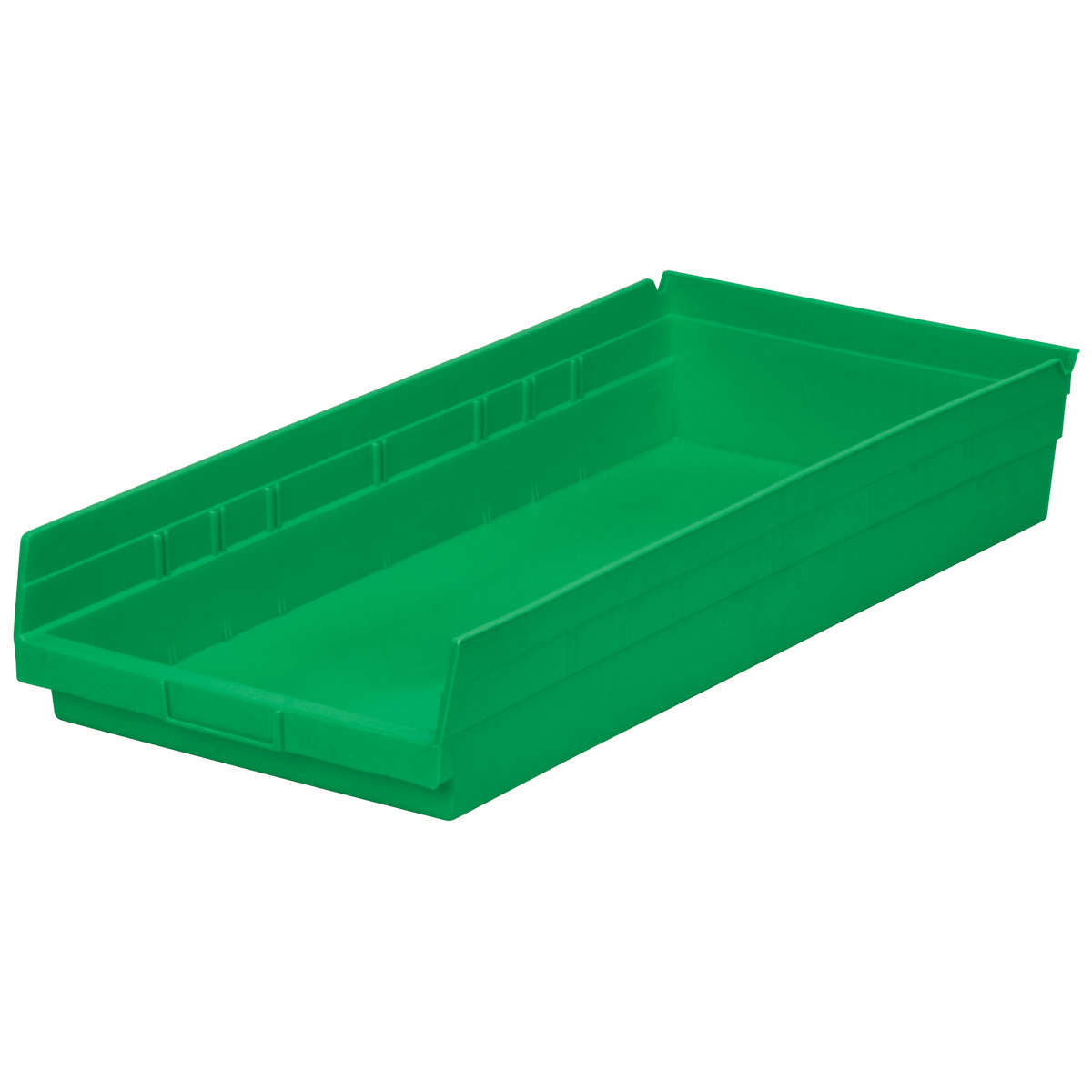Shelf Bin 23-5/8 x 11-1/8 x 4, Green (30174GREEN).  This item sold in carton quantities of 6.