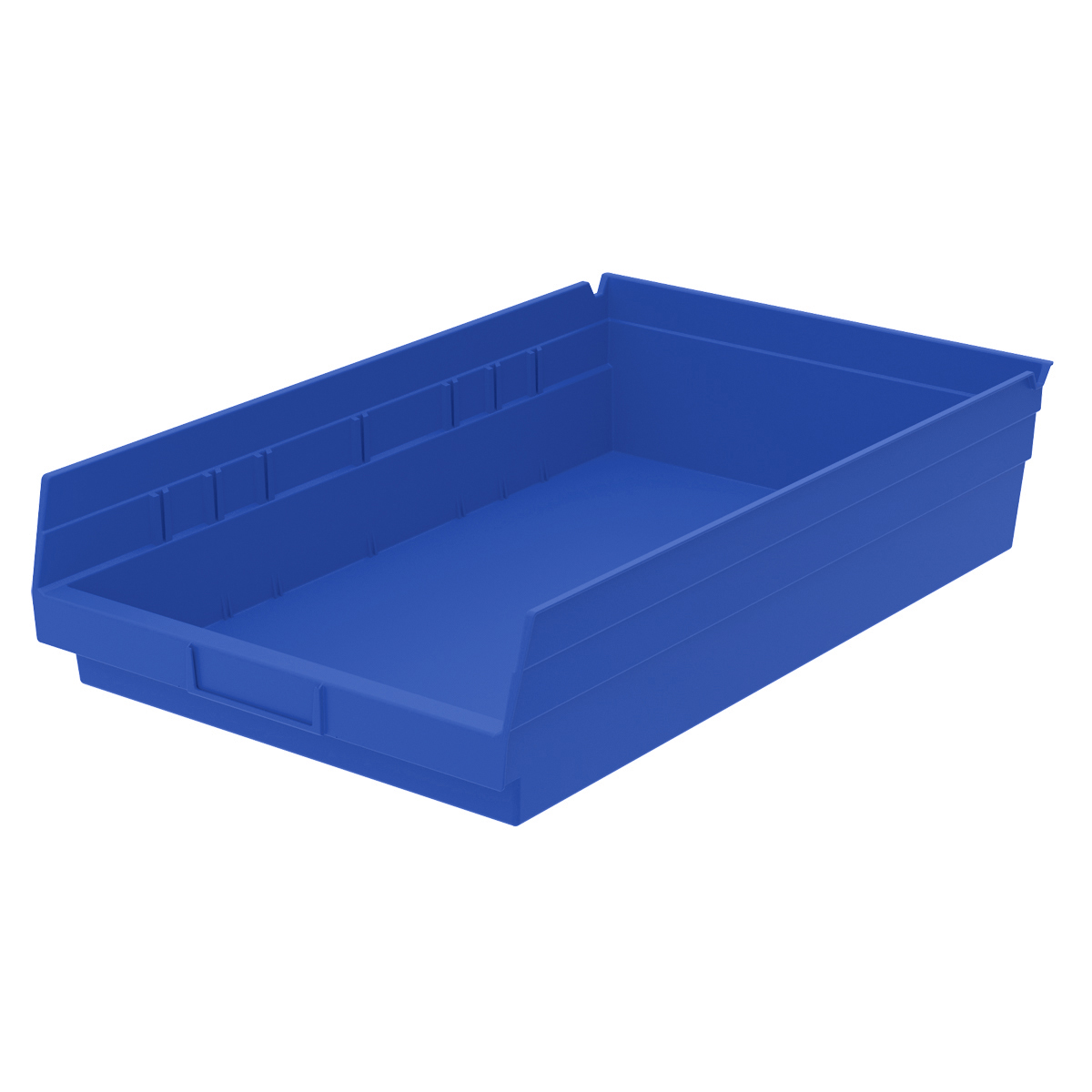 Shelf Bin 17-7/8 x 11-1/8 x 4, Blue (30178BLUE).  This item sold in carton quantities of 12.