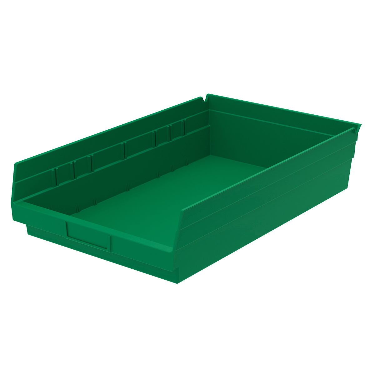 Shelf Bin 17-7/8 x 11-1/8 x 4, Green (30178GREEN).  This item sold in carton quantities of 12.