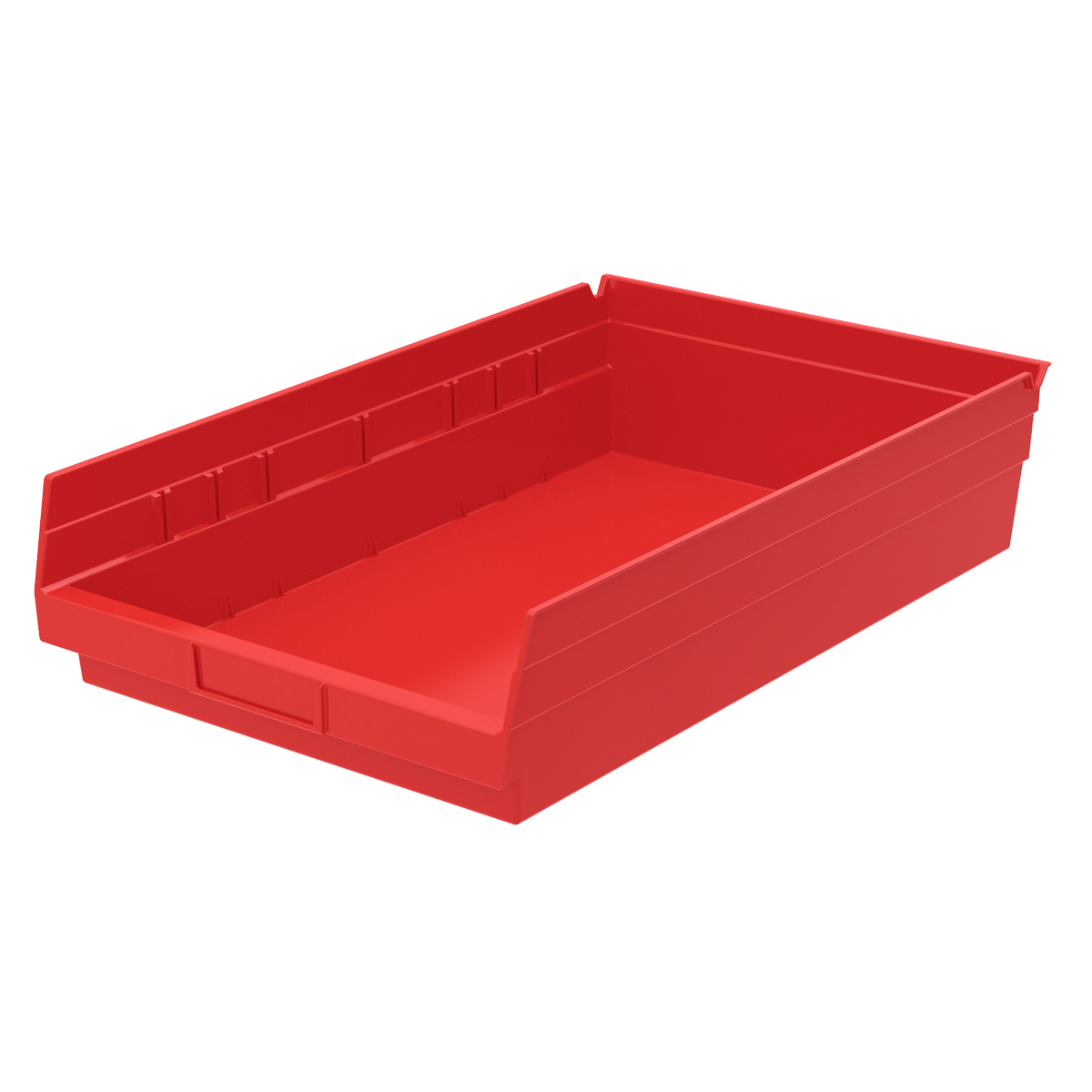 Shelf Bin 17-7/8 x 11-1/8 x 4, Red (30178RED).  This item sold in carton quantities of 12.