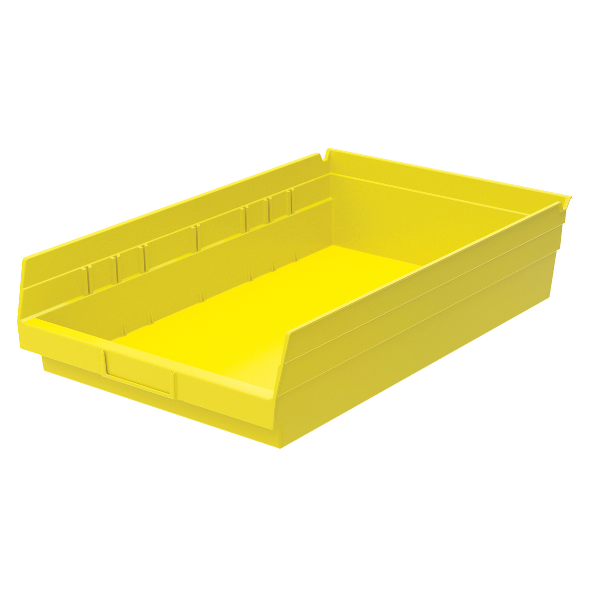 Shelf Bin 17-7/8 x 11-1/8 x 4, Yellow (30178YELLO).  This item sold in carton quantities of 12.