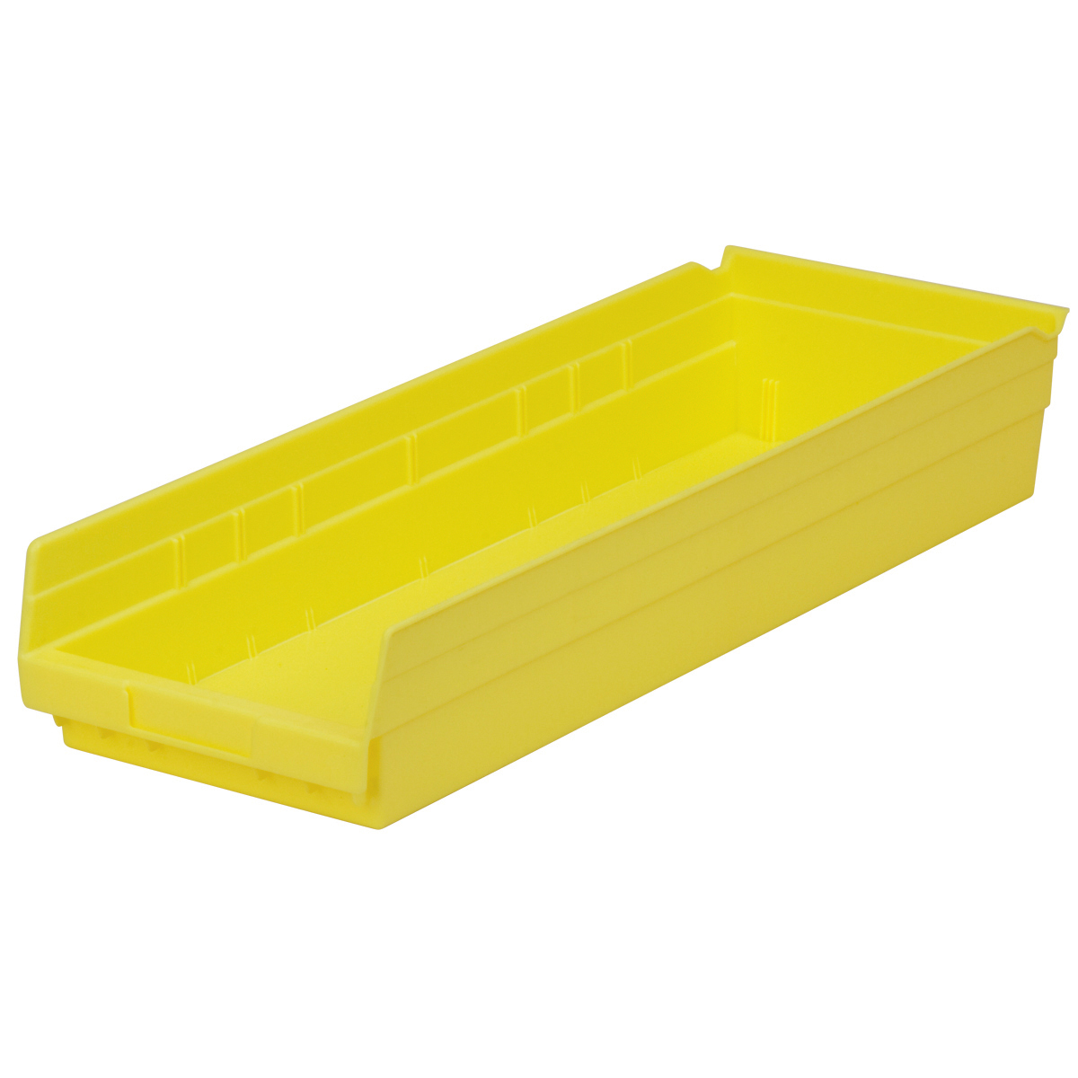 Shelf Bin 23-5/8 x 8-3/8 x 4, Yellow (30184YELLO).  This item sold in carton quantities of 6.