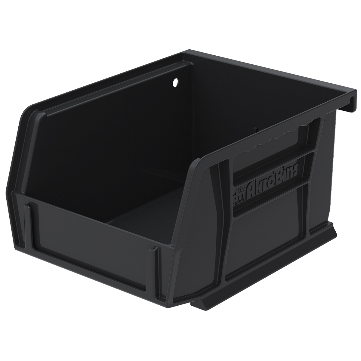 AkroBin 5-3/8 x 4-1/8 x 3, Black (30210BLACK).  This item sold in carton quantities of 24.