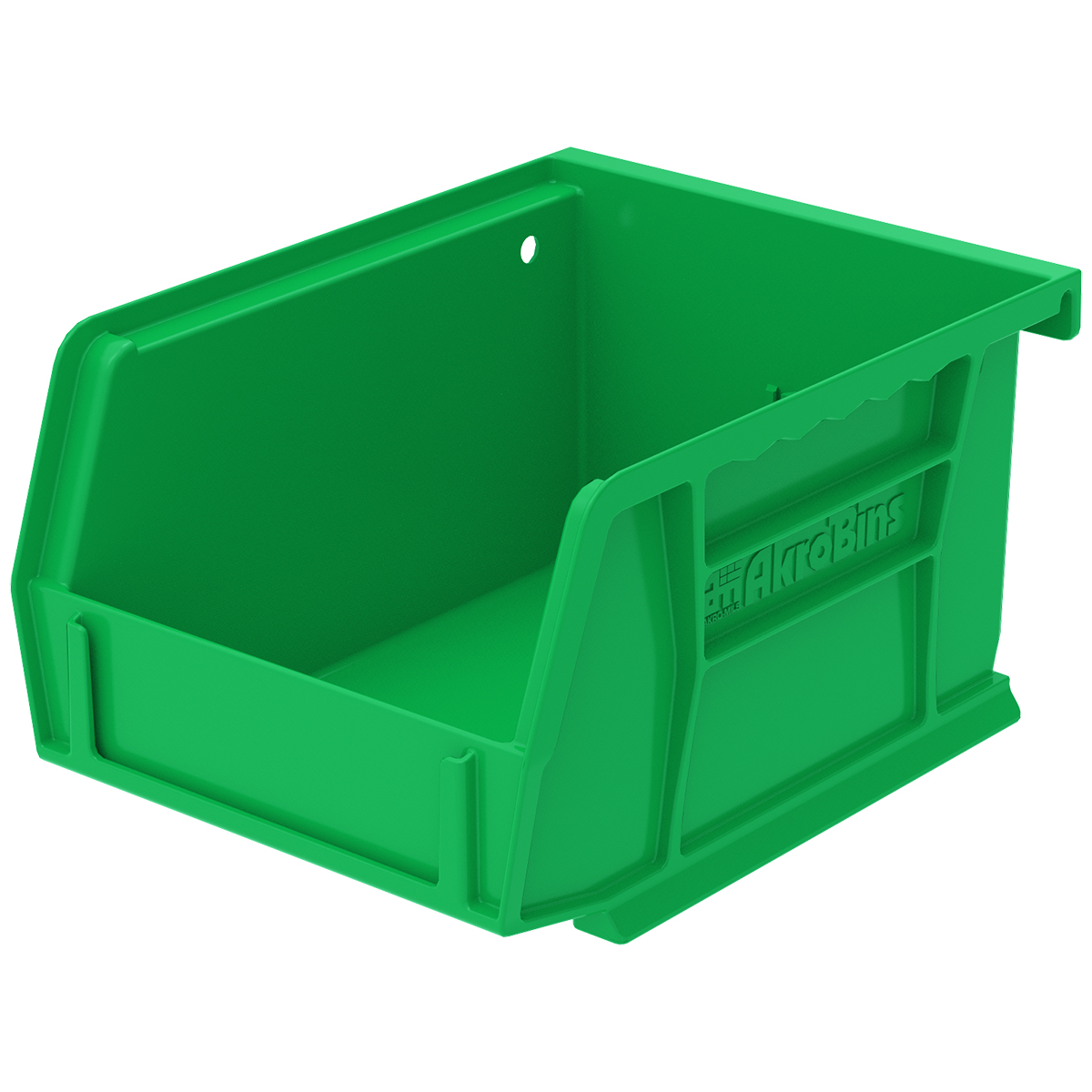 AkroBin 5-3/8 x 4-1/8 x 3, Green (30210GREEN).  This item sold in carton quantities of 24.